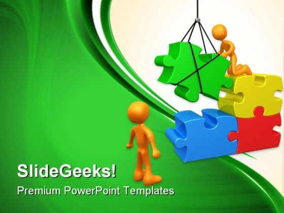 Constructive Team Business PowerPoint Templates And PowerPoint Backgrounds 0611