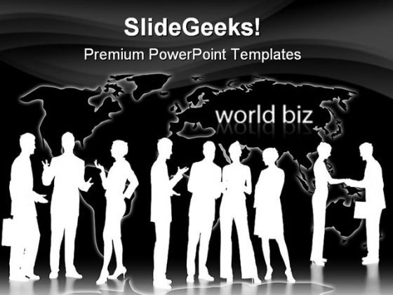 Conversation Global Business PowerPoint Themes And PowerPoint Slides 0511