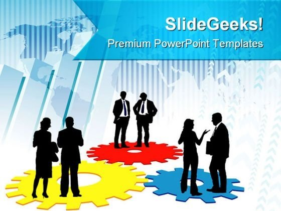 Corporate Machinery Business PowerPoint Themes And PowerPoint Slides 0511