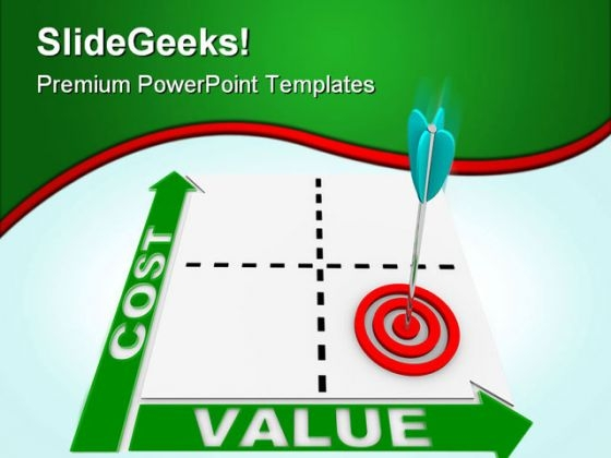 Cost Value Business PowerPoint Themes And PowerPoint Slides 0411