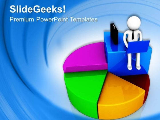 Create A Pie Chart For Business Results PowerPoint Templates Ppt Backgrounds For Slides 0713
