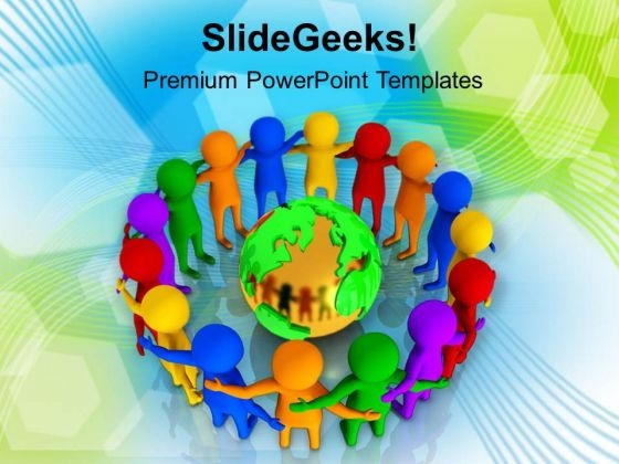 Create A Team Full With Diversity Powerpoint Templates Ppt