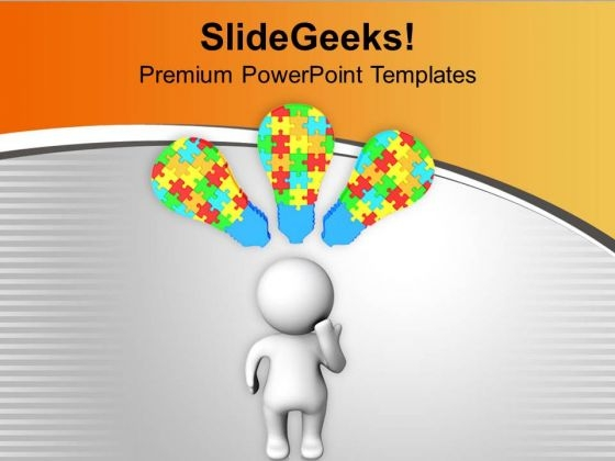 Creative And Innovative Mind With Ideas PowerPoint Templates Ppt Backgrounds For Slides 0513