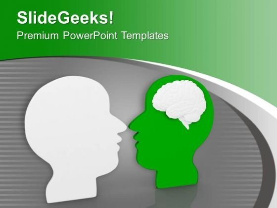 Creative Brain PowerPoint Templates Ppt Backgrounds For Slides 0313