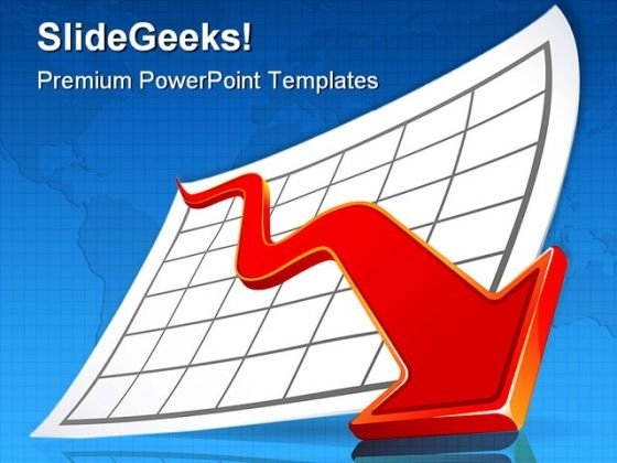 Crisis Business PowerPoint Themes And PowerPoint Slides 0511