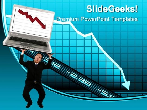 Crisis Business PowerPoint Themes And PowerPoint Slides 0911