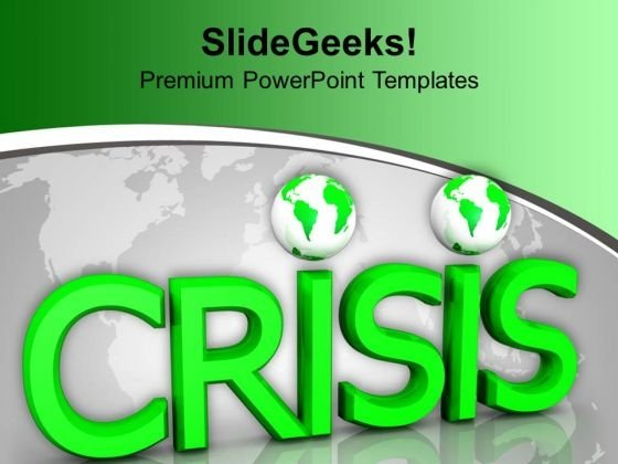 Crisis Marketing Global PowerPoint Templates And PowerPoint Themes 1012