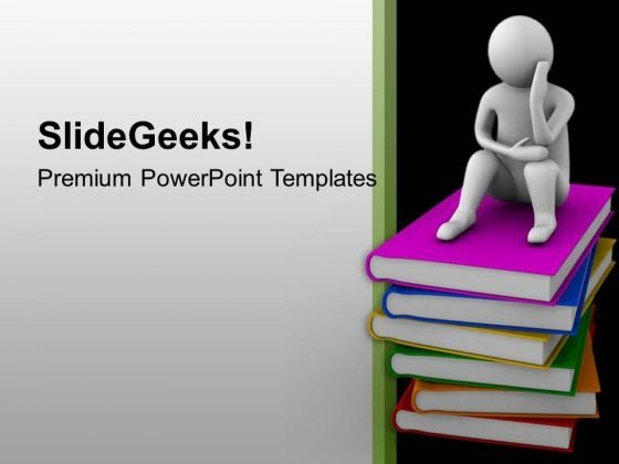 Critical Thinking On Concept Of Education Powerpoint Templates Ppt