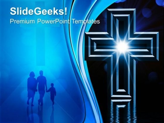 Cross Christainity PowerPoint Templates And PowerPoint Themes 0712