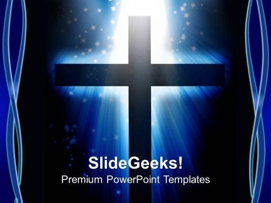 Cross Christian PowerPoint Templates And PowerPoint Themes 0712