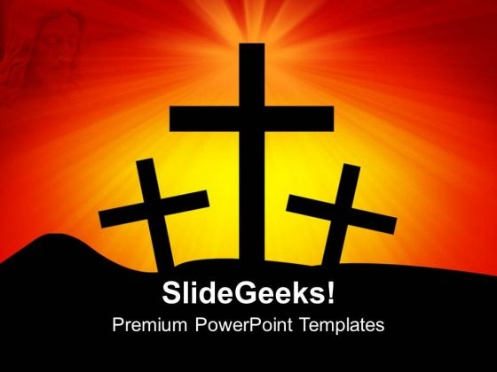 Cross Christianity PowerPoint Templates Ppt Backgrounds For Slides 1212