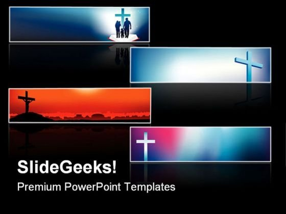 Cross Faith Religion PowerPoint Themes And PowerPoint Slides 0811