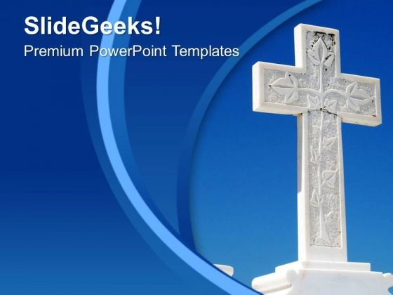 Cross Is Symbol Of Peace PowerPoint Templates Ppt Backgrounds For Slides 0613