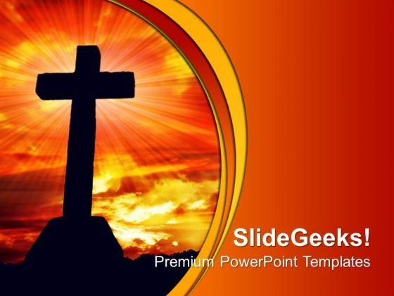 Cross Religion PowerPoint Templates And PowerPoint Themes 0712
