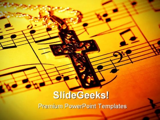 Cross Religion PowerPoint Themes And PowerPoint Slides 0711