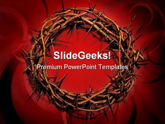 Crown Religion PowerPoint Templates And PowerPoint Backgrounds 0111