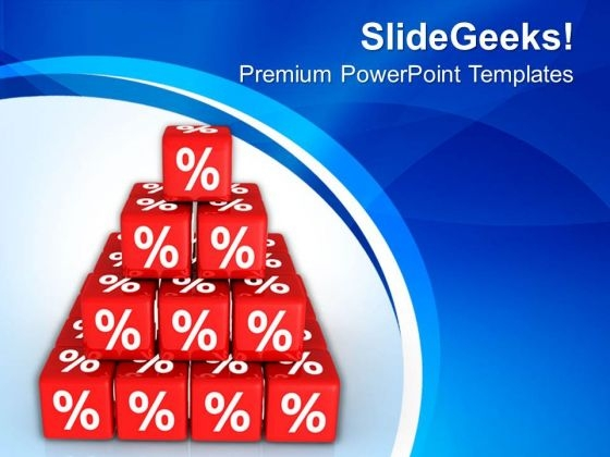 Cubes Showing Interest Marketing Concepts PowerPoint Templates Ppt Backgrounds For Slides 0513