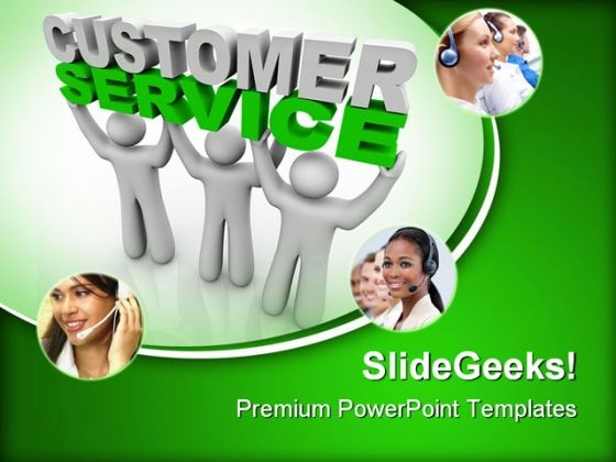 Customer Service Communication PowerPoint Templates And PowerPoint Backgrounds 0311