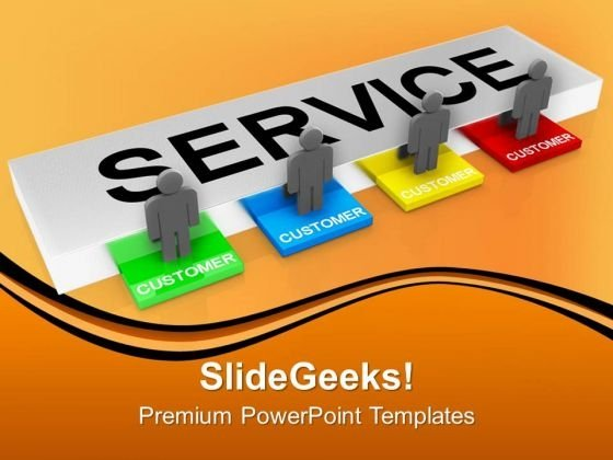 Customer Service Concept Communication PowerPoint Templates And PowerPoint Themes 1012