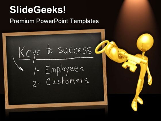 Customers Employees Business PowerPoint Templates And PowerPoint Backgrounds 0611