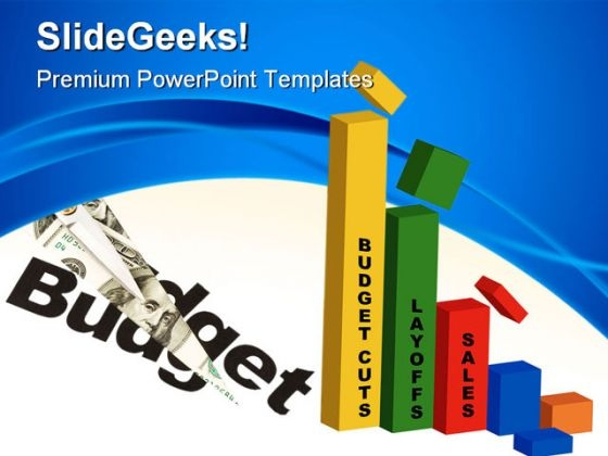 Cut Budget Expenses Business PowerPoint Templates And PowerPoint Backgrounds 0711
