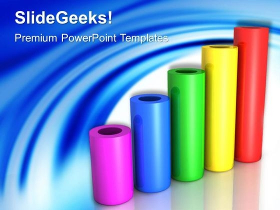 Cylinder Graph Success PowerPoint Templates And PowerPoint Themes 0512