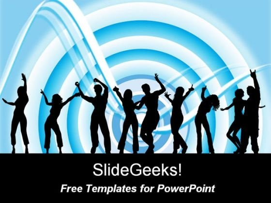 Entertainment People PowerPoint Template