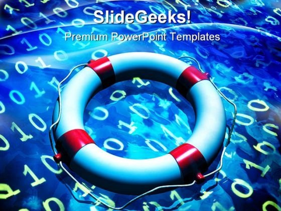 Data Recovery Internet PowerPoint Themes And PowerPoint Slides 0511