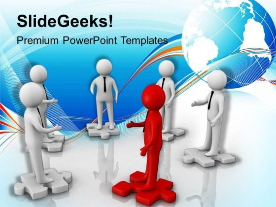 Deal Meeting Global Business Powerpoint Templates Ppt Background For