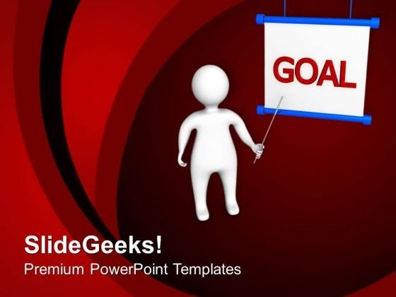 Decide Your Goals For Business PowerPoint Templates Ppt Backgrounds For Slides 0613