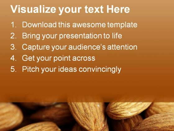 delicious_almonds_food_powerpoint_templates_and_powerpoint_backgrounds_0311_text
