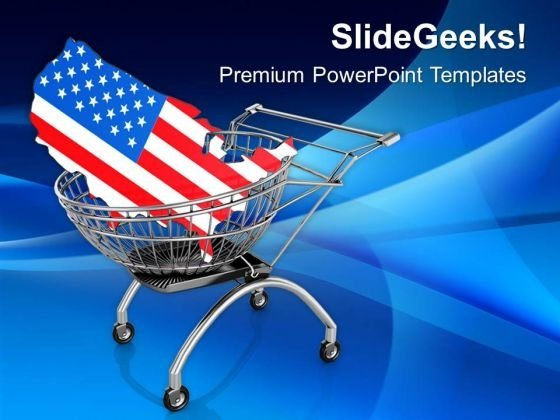 delivery of united states america powerpoint templates ppt