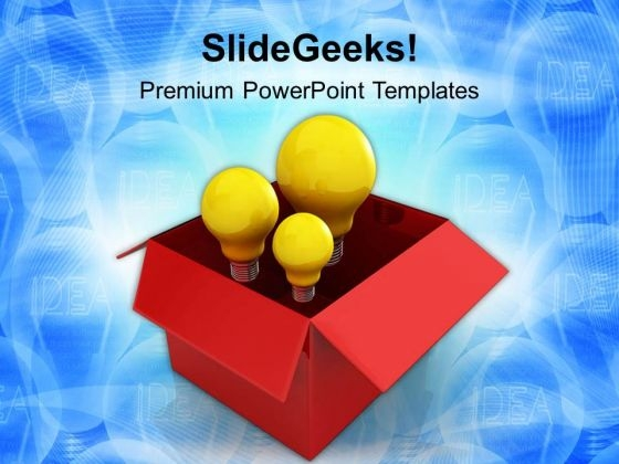 Develop Innovative Ideas For Your Business PowerPoint Templates Ppt Backgrounds For Slides 0713