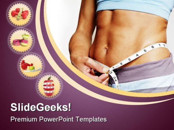 Diet Concept Food PowerPoint Backgrounds And Templates 1210