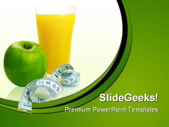 Dieting Concept Food PowerPoint Templates And PowerPoint Backgrounds 0211