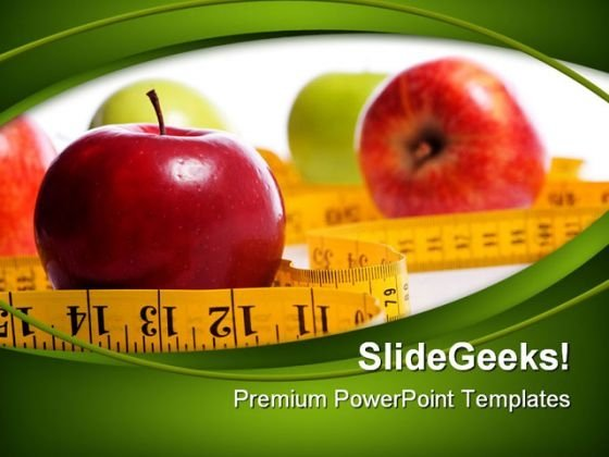 Dieting Concept Health PowerPoint Templates And PowerPoint Backgrounds 0411