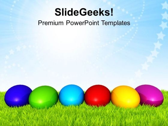 Different Color Of Easter PowerPoint Templates Ppt Backgrounds For Slides 0313