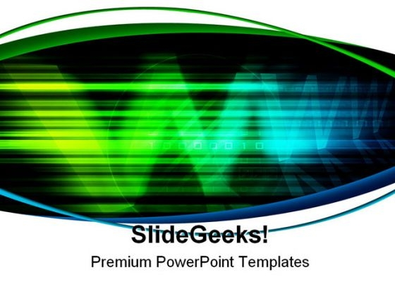 Digital Www Background Abstract PowerPoint Themes And PowerPoint Slides 0411