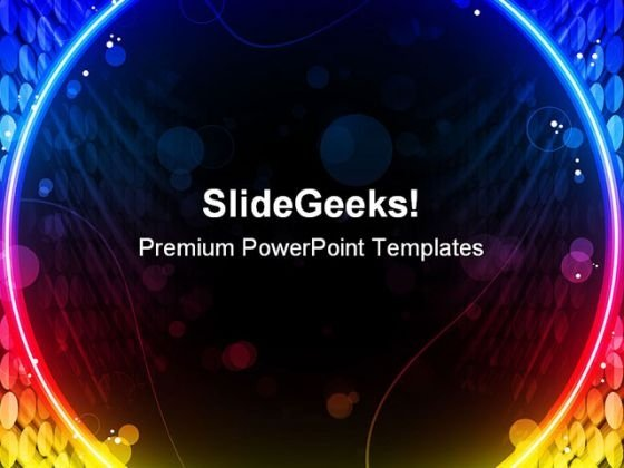 Disco Abstract PowerPoint Themes And PowerPoint Slides 0511