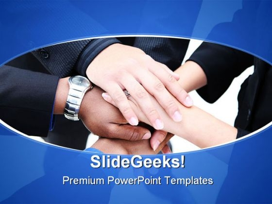 Diverse Group Teamwork Business PowerPoint Templates And PowerPoint Backgrounds 0611