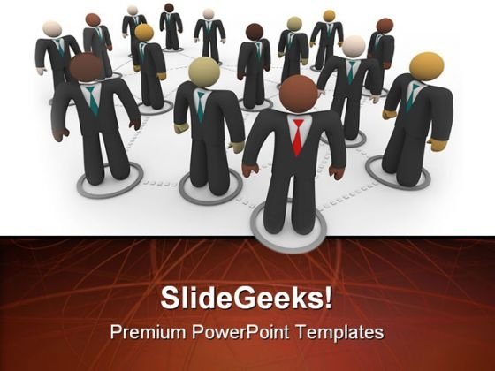 Diverse People Business PowerPoint Templates And PowerPoint Backgrounds 0611