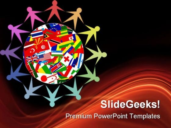 Diverse World Global PowerPoint Themes And PowerPoint Slides 0711