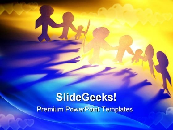 Diversity Of People Family PowerPoint Templates And PowerPoint Backgrounds 0611