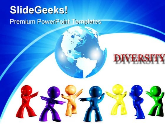 Diversity On Earth Global Powerpoint Templates And