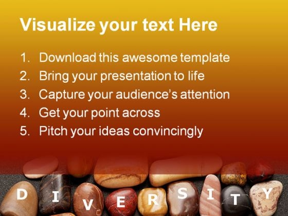 Diversity Stones Nature Powerpoint Templates And Powerpoint