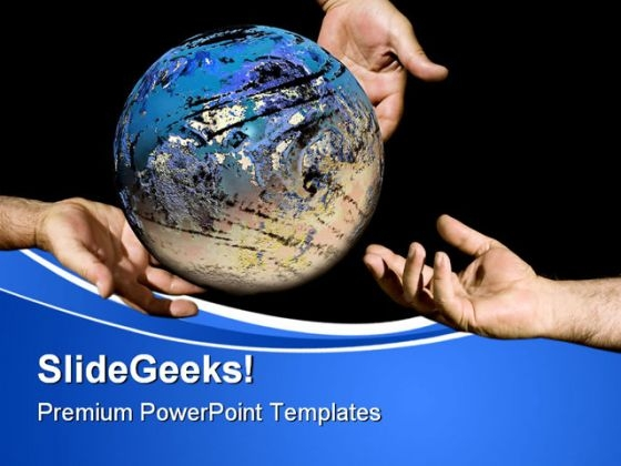 Divine Offert Globe PowerPoint Themes And PowerPoint Slides 0611