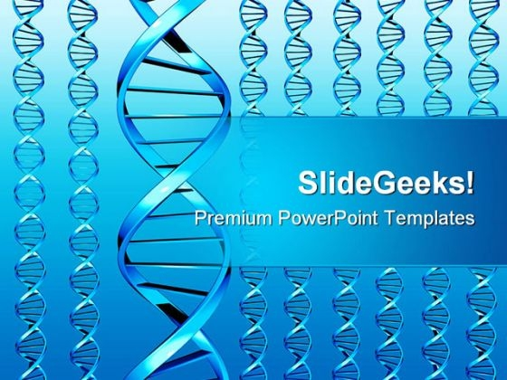 Dna01 Medical PowerPoint Template 1110