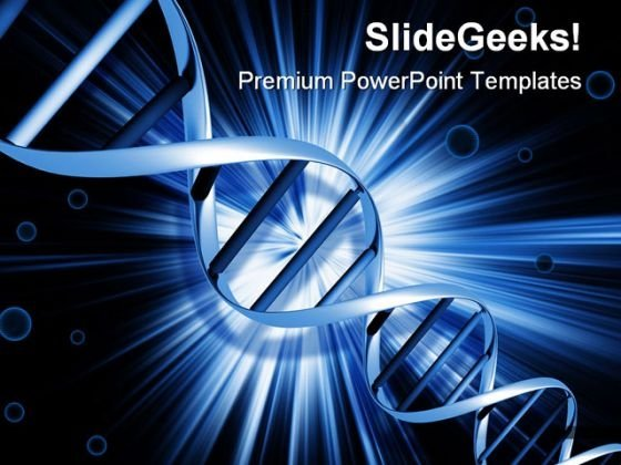 Dna Medical PowerPoint Templates And PowerPoint Backgrounds 0411