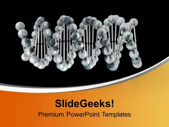 Dna Structre For Medical Theme PowerPoint Templates Ppt Backgrounds For Slides 0413