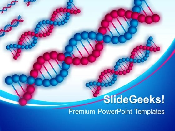 Dna Structure Science PowerPoint Templates And PowerPoint Themes 0312
